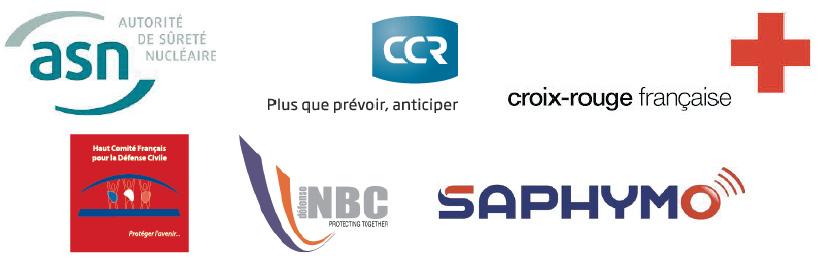 Partenaires et soutiens de ce rapport : ASN, CCR, Croix Rouge, HCFDC, GIE NBC, Saphymo
